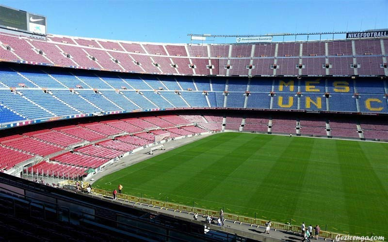 Nou Camp Stadyumu Barselona