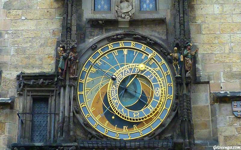 Astronomik Saat Kulesi,Prag