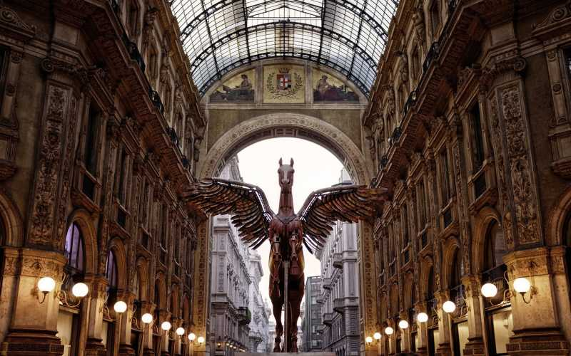 Galleria Vittorio Emanuele II Alışveriş Merkezi