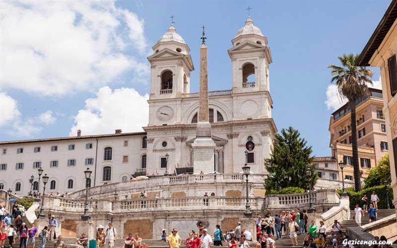 Piazza di Spagna,Roma