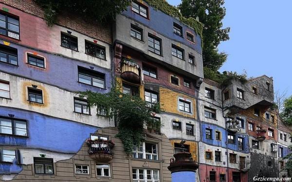 Hundertwasser Evi, Viyana