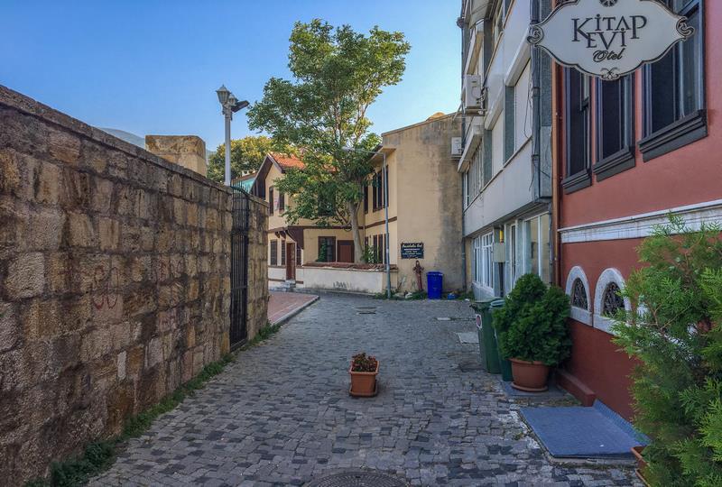 Bursa Kalesi-Saltanat Kapısı