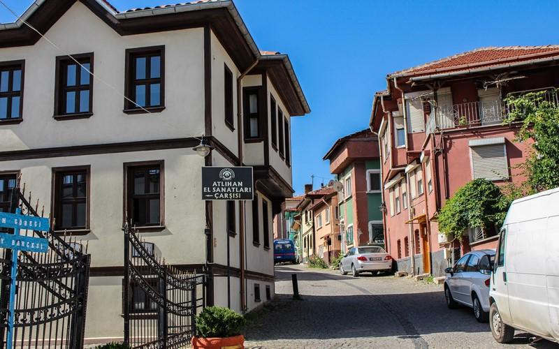Atlıhan El Sanatları Çarşısı Eskişehir