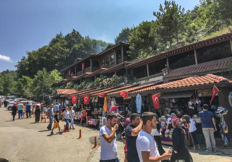 Saitabat Şelalesi, Bursa