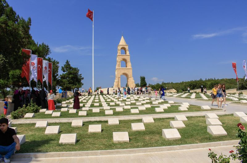 57. Alay Şehitliği Çanakkale