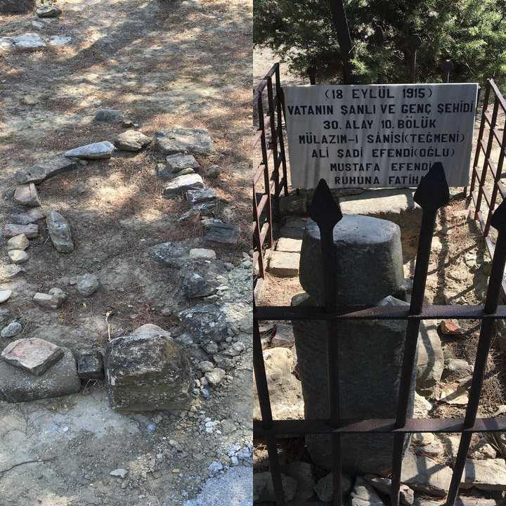 Şahindere Şehitliği Çanakkale