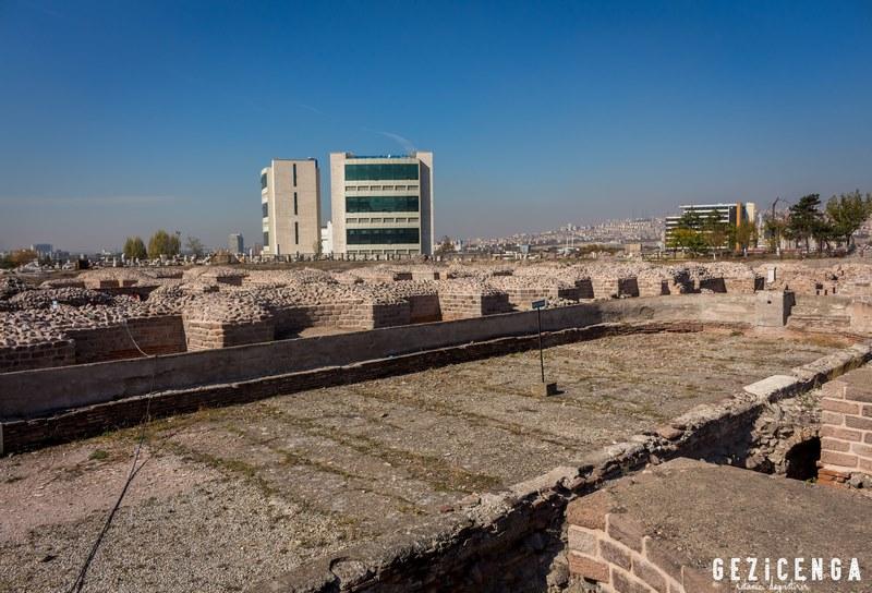 Ankara Roma Hamamı Açık Hava Müzesi