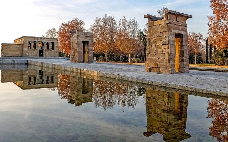 Debod Tapınağı, Madrid