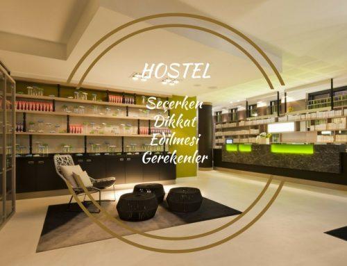 Hostel Seçerken Dikkat Edilmesi Gereken 10 Şey