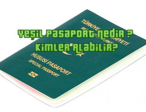 Yeşil Pasaport Nedir ? | Kimler Alabilir ?