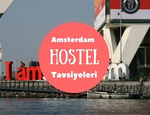 Amsterdam Hostelleri | En İyi 5 Amsterdam Hostel Tavsiyesi