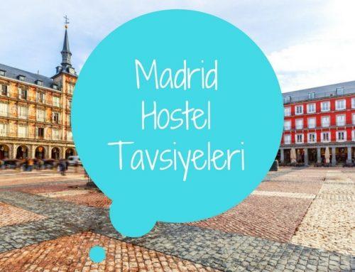 Madrid Hostel Tavsiyeleri | En İyi 6 Madrid Hostel Önerisi