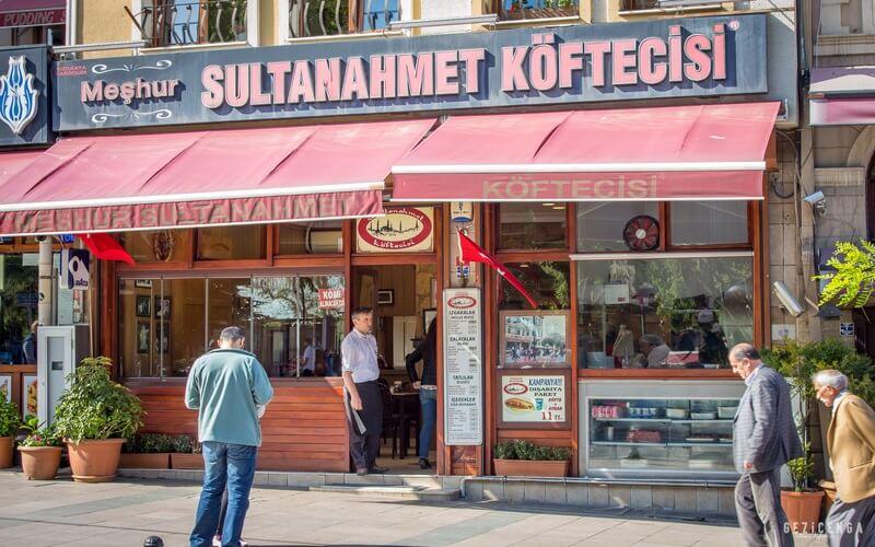 Sultanahmet Köftecisi Avrupa Yakası
