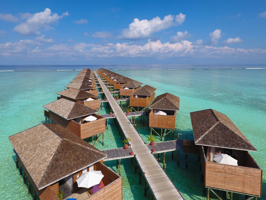 Maldivler Su üstü Villaları
