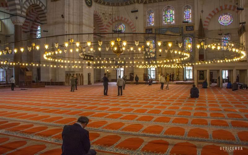 Caminin iç bölümü