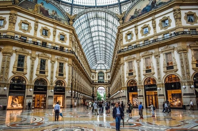 Galleria Vittorio Emanuele II Milano Gezilecek Yerler Listesi