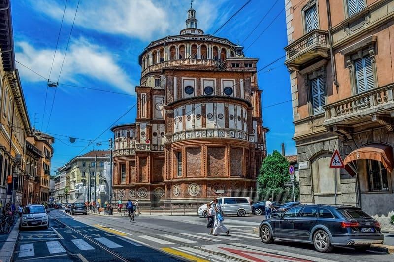 Santa Maria delle Grazie Kilisesi Milano