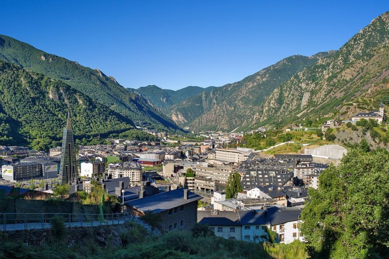 Andorra Nerede