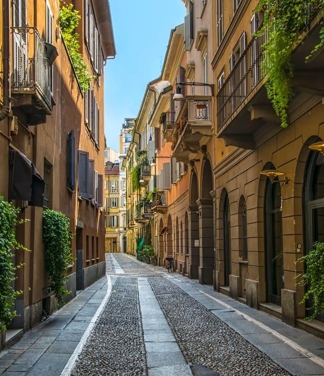 Brera Sokakları Milano
