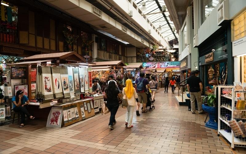 Central Market - Kuala Lumpur Gezi Rehberi