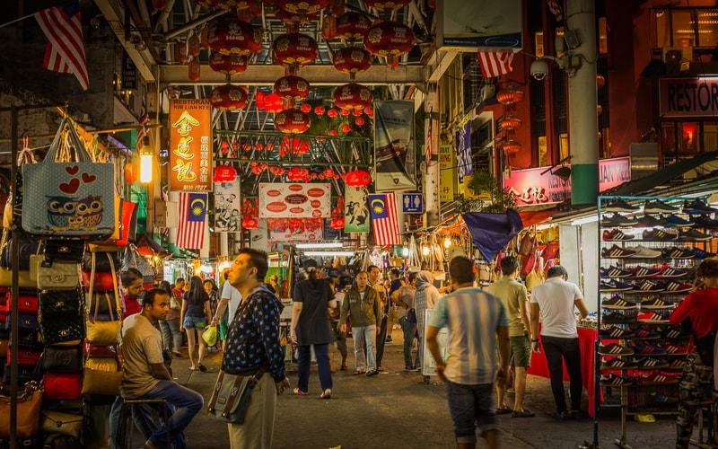 Chinatown - Çin Mahallesi Kuala Lumpur
