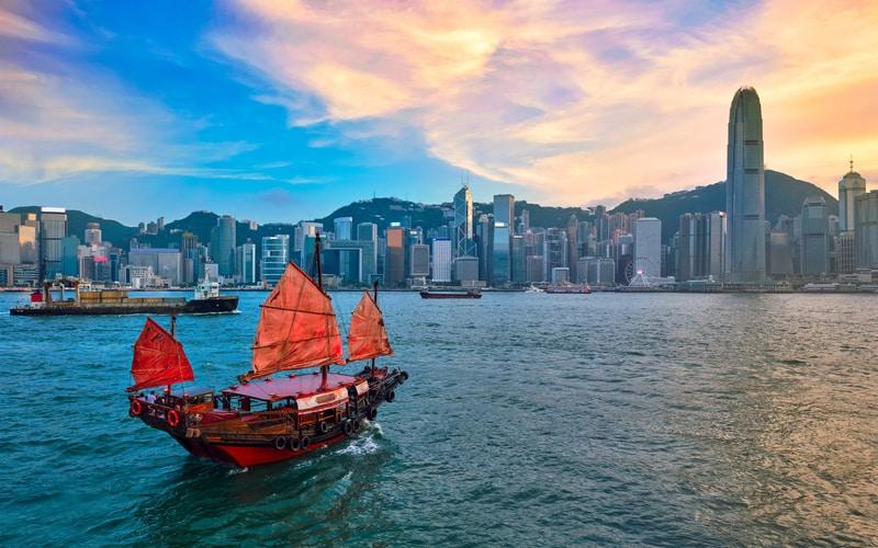 Junk Boat - Tekne Turu Hong Kong