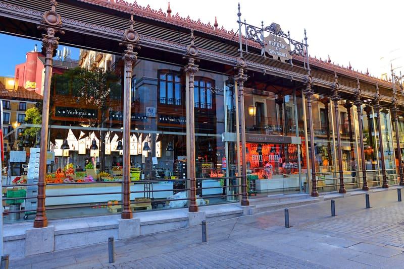 San Miguel Pazarı Madrid Gezilecek Yerler
