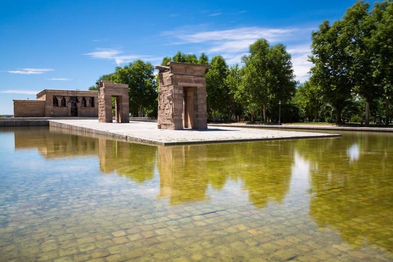 Debod Tapınağı Madrid Gezilecek Yerler Blog