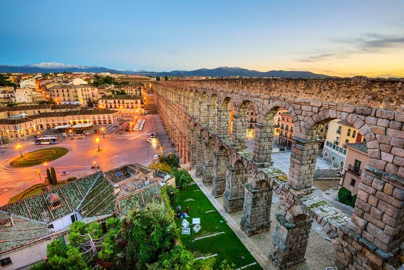Segovia İspanya Madrid