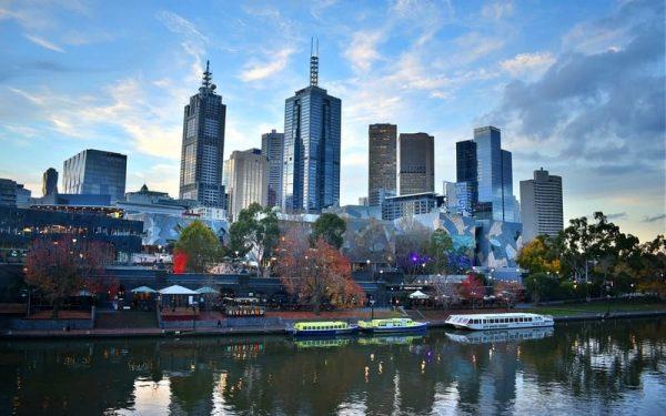 Melbourne Nerede ?