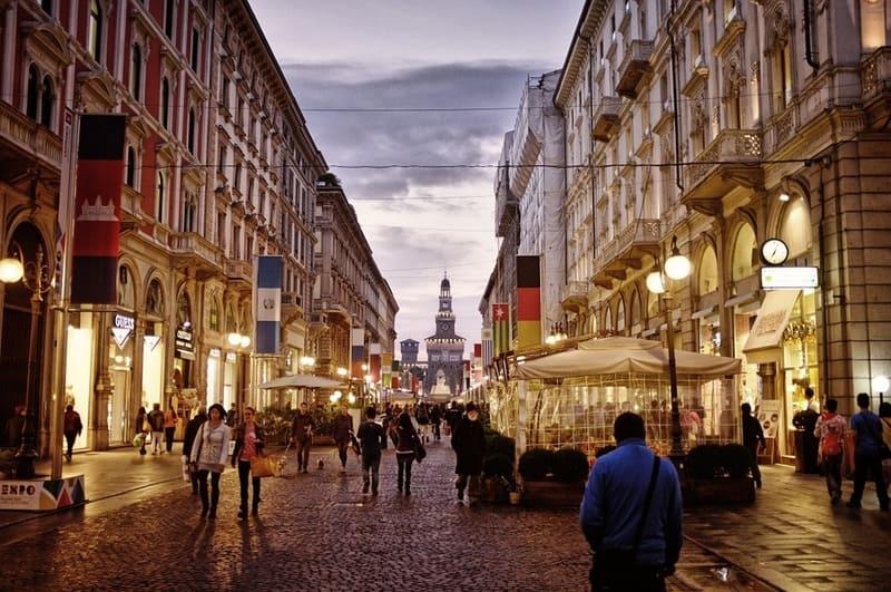 Milano Alışveriş Yerleri