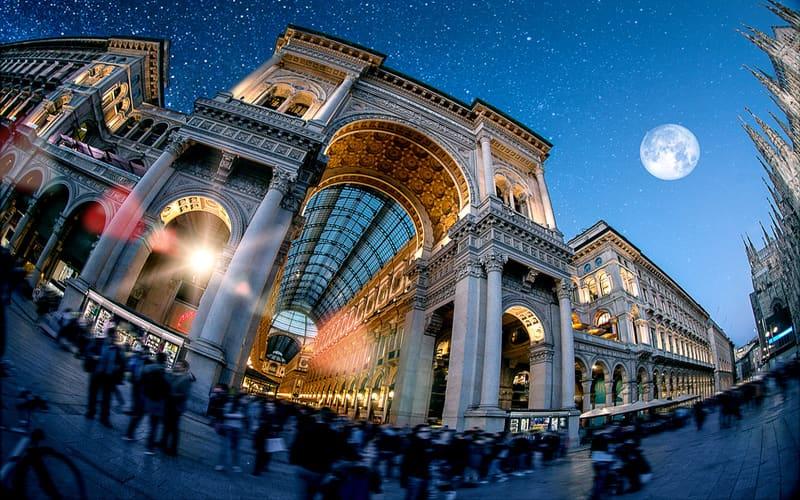 Milano Gezilecek Yerler Haritası