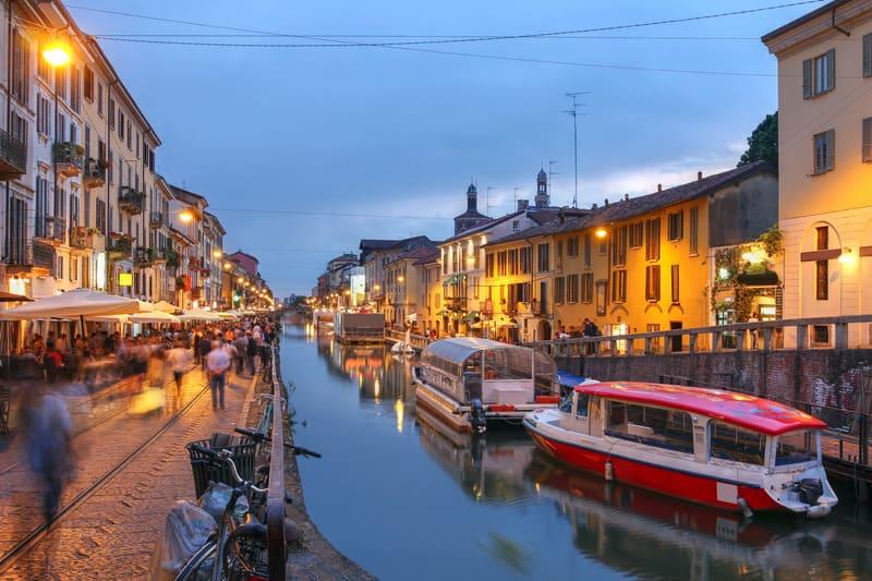Naviglio Grande Milano