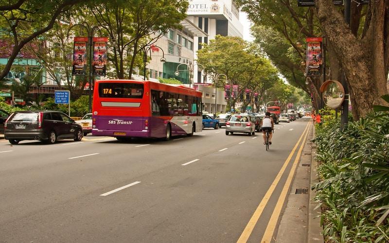 Orchard Road - Singapur da Gezilecek Yerler