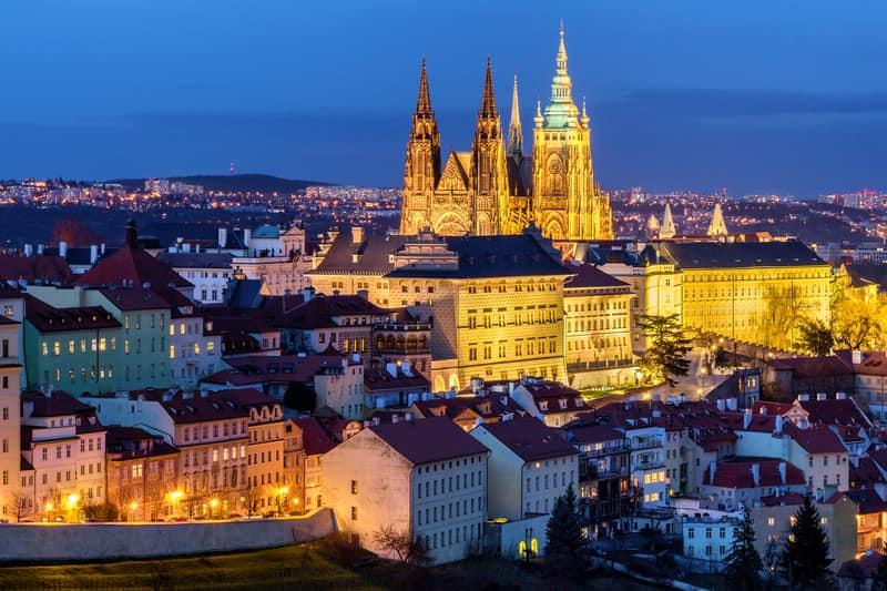 Prag Kalesi Manzarası