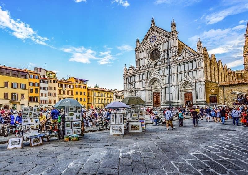 Santa Croce Bazilikası Floransa