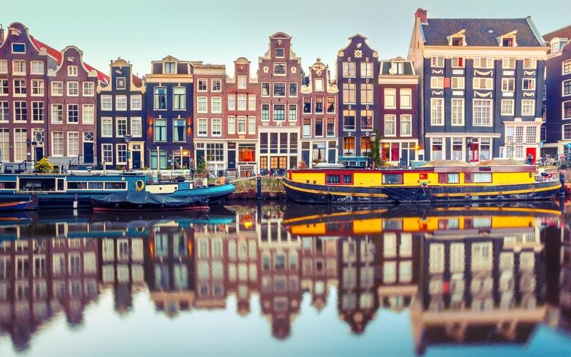 Singel Kanalı - Amsterdam Kanalları