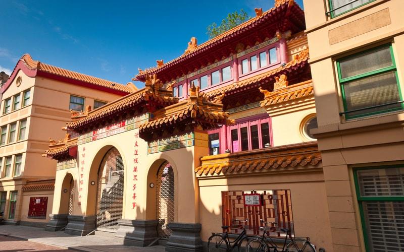Amsterdam Çin Mahallesi - He Hwa Tapınağı