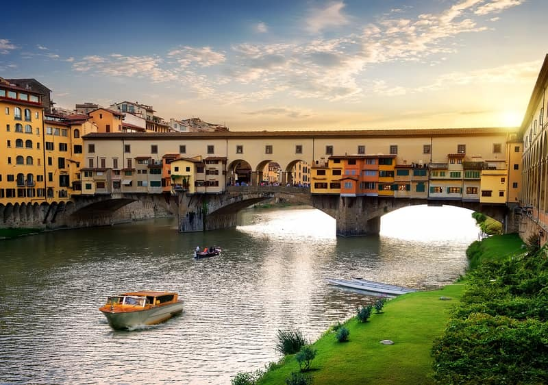 Floransa Eski köprü - Gezilecek Yerler