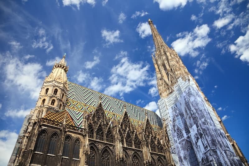 Aziz Stephan Katedrali Viyana da Gezilecek Yerler