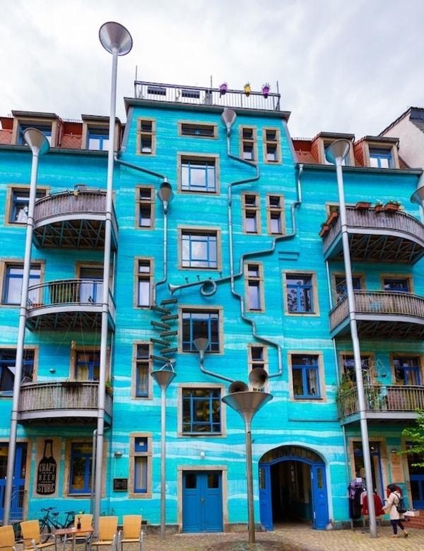 Kunsthofpassage Dresden Gezi Rehberi