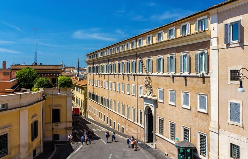 Quirinale Sarayı Roma
