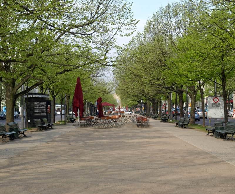 Unter den Linden Caddesi