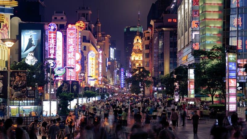 Nanjing Yolu Şangay