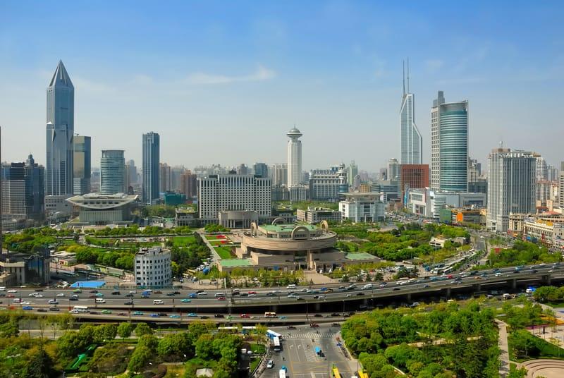 Renmin Meydanı Şangay