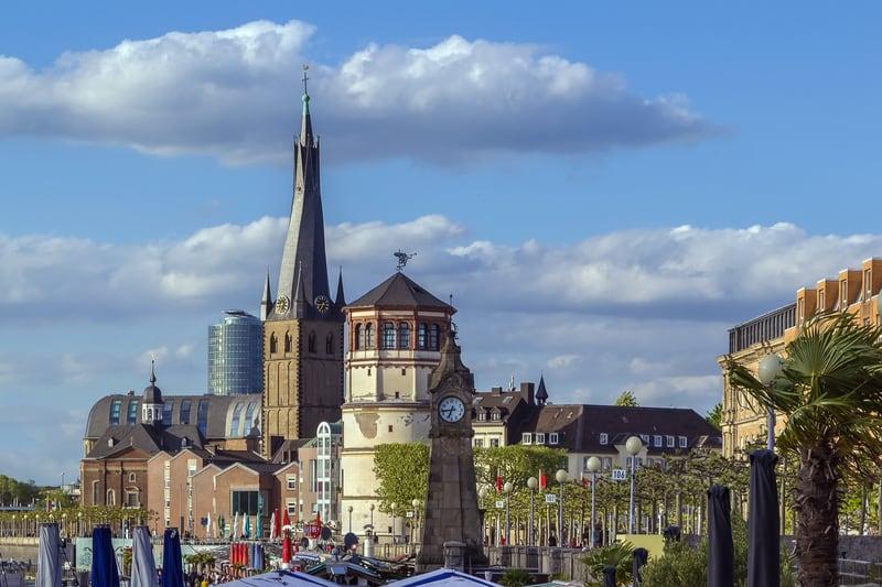 Eski Kent Bölgesi Düsseldorf (Altstadt)