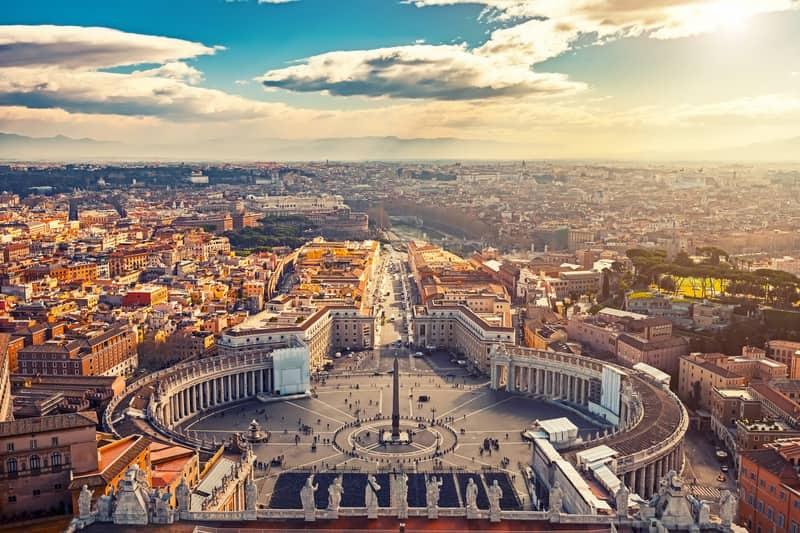 Aziz Petrus Meydanı Vatikan