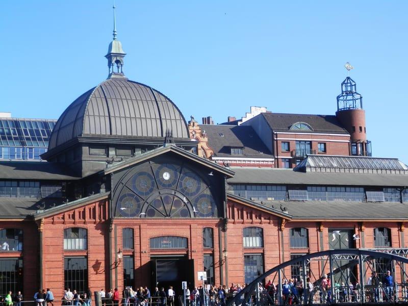 Hamburg Balık Pazarı - Fischmarkt