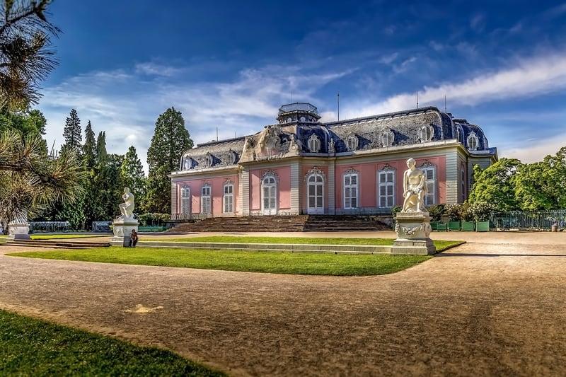 Benrath Sarayı Düsseldorf
