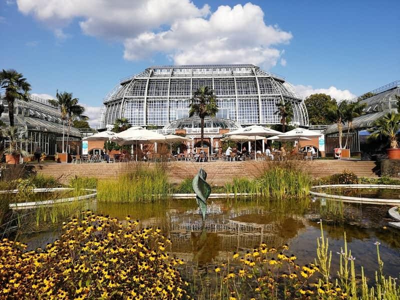 Berlin Botanik Bahçesi manzarası - Berlin Gezilecek Yerler Listesi